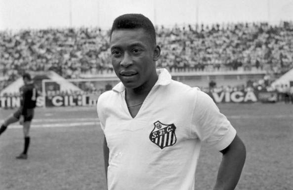 Resultado de imagem para Pelé, jove. no Santos