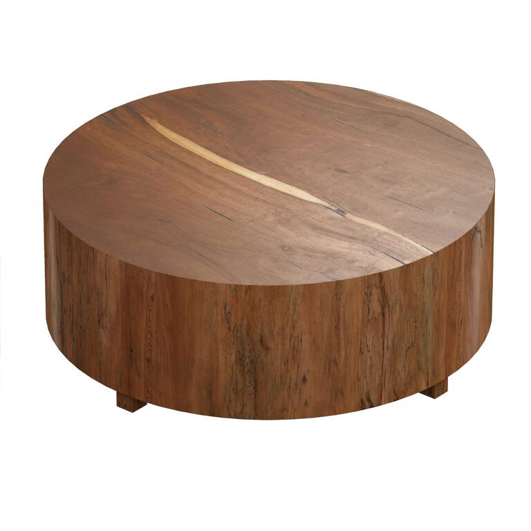 dillon natural yukas round wood coffee table crate and barrel 3d model download 3d model dillon natural yukas round wood coffee table crate and