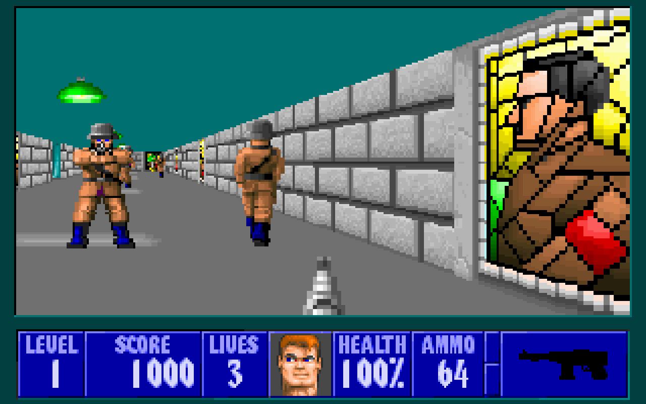 Wolfenstein 3D 3D Realms Firepower Matters