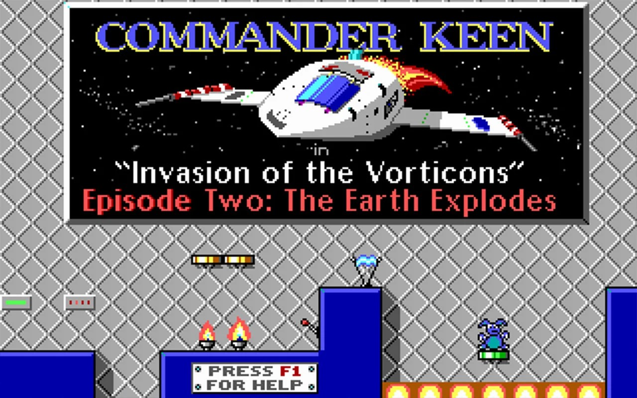 Commander Keen Invasion Of The Vorticons 3D Realms Firepower Matters