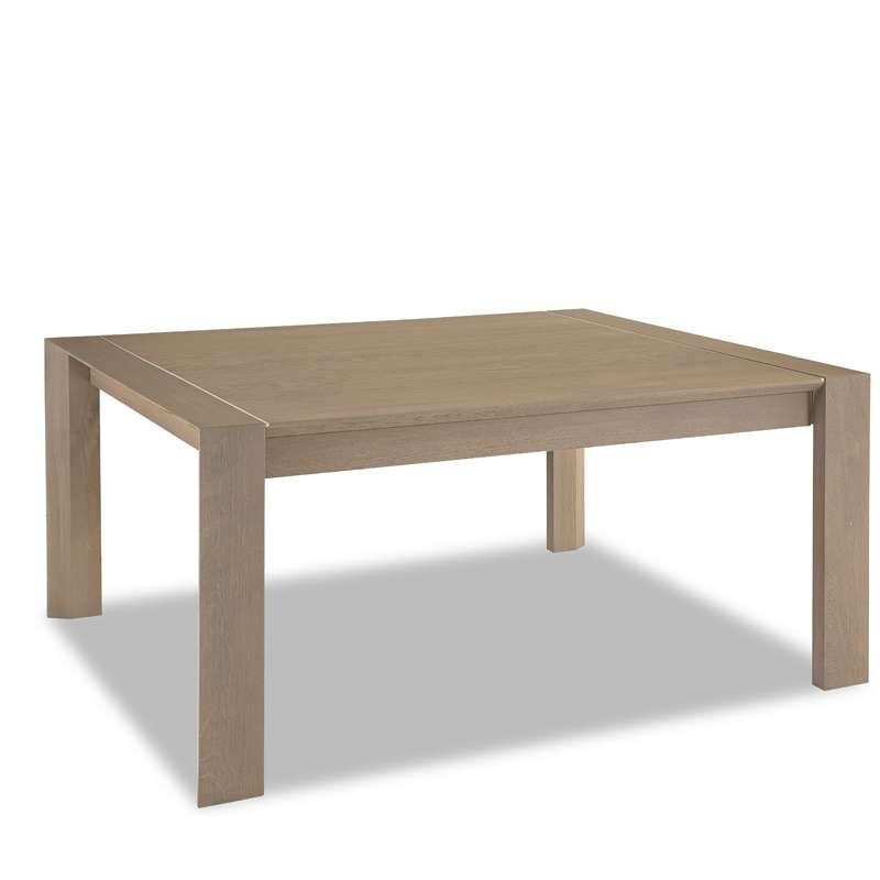 table de salle a manger en chene rectangle carree conception h