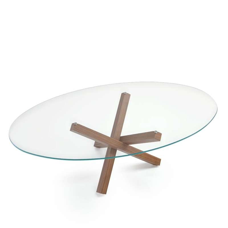 table de salle a manger ovale design en verre aikido sovet