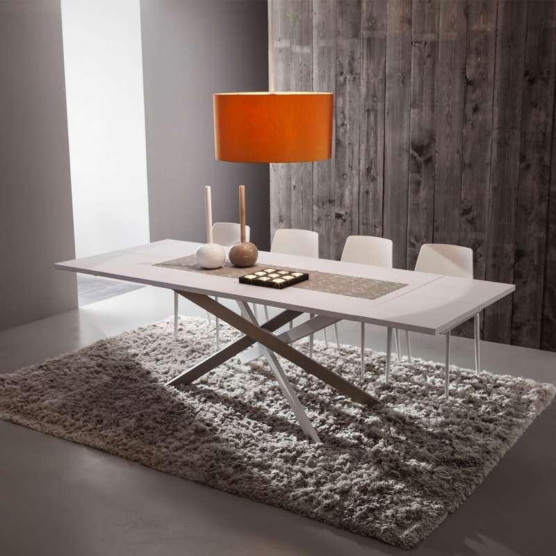 table de salle a manger design extensible en fenix renzo
