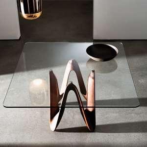 table carree en verre achat en ligne