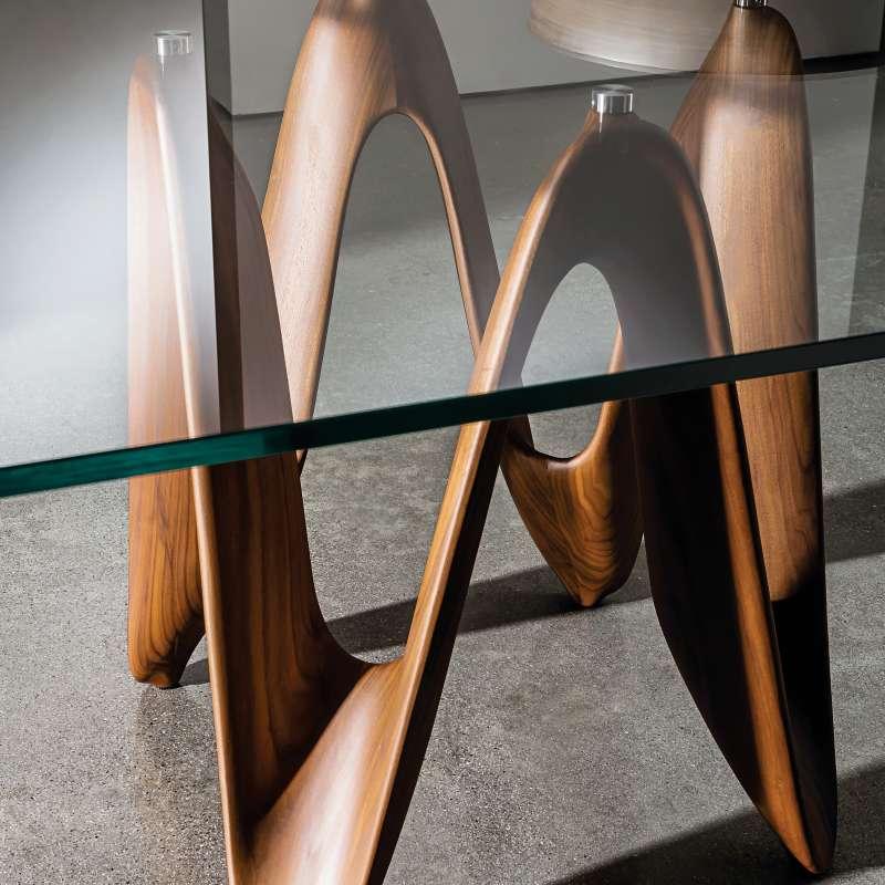 table de salle a manger design en verre 320 x 120 cm lambda sovet