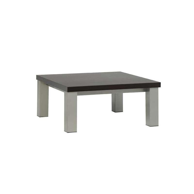 table basse carree en stratifie quadra