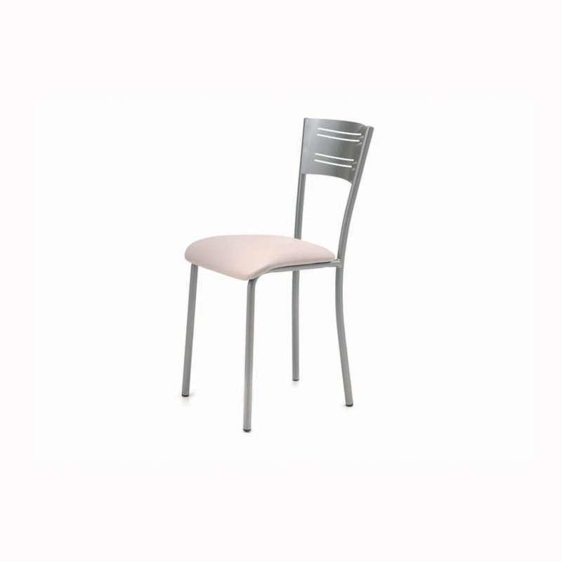 chaise de cuisine contemporaine en synthetique et metal hera