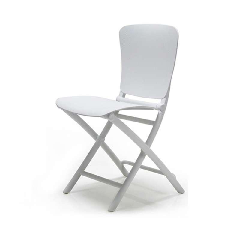 chaise de jardin pliante en polypropylene zac classic