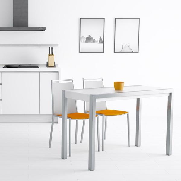 table en verre extensible pour petit espace concept minor