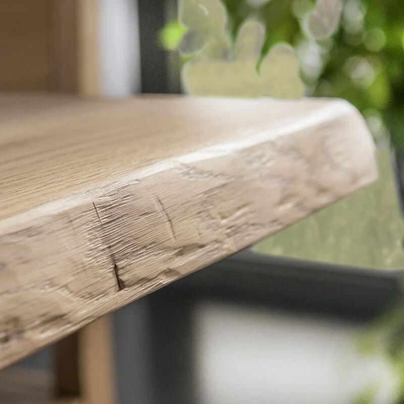 table design industriel en bois massif avec pieds en metal 14 11