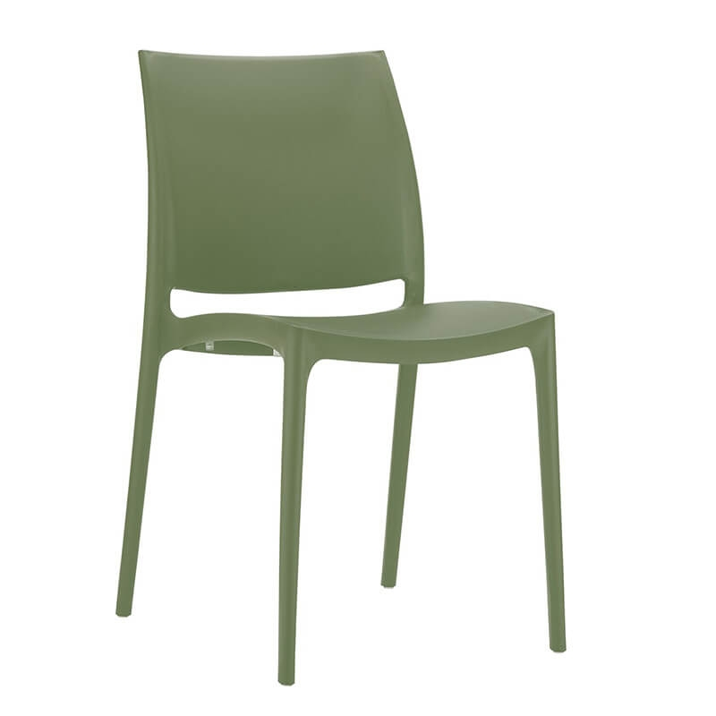 chaise de jardin en polypropylene maya