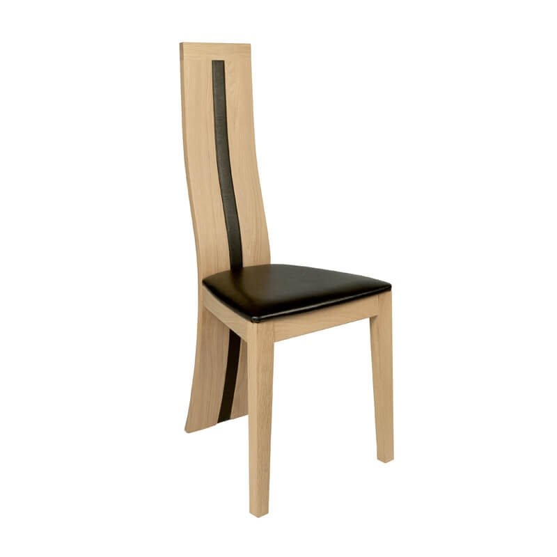 chaise de salle a manger francaise en chene massif anis 1420