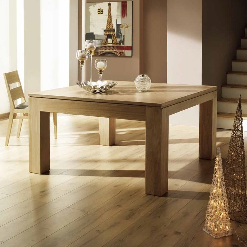 table carree extensible en bois massif made in france baobab