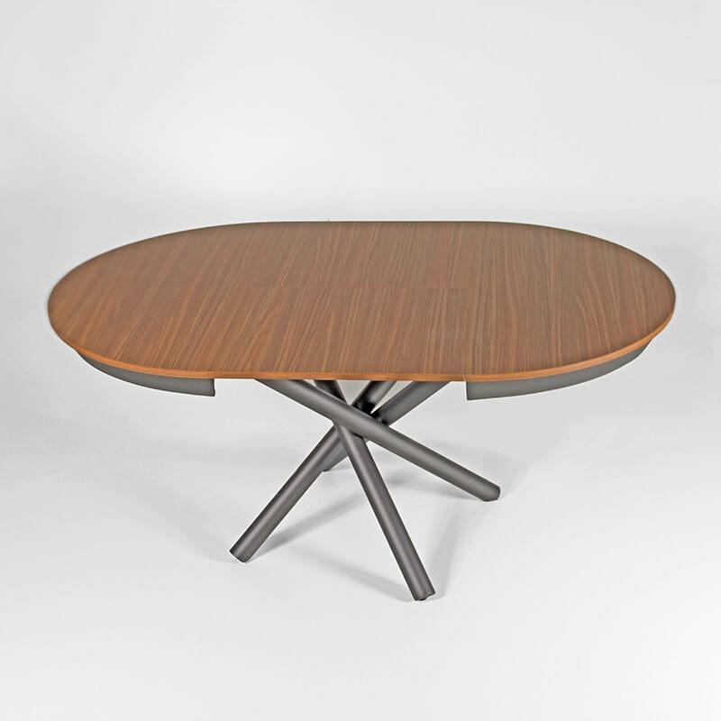 table ronde extensible design italien en melamine celsius