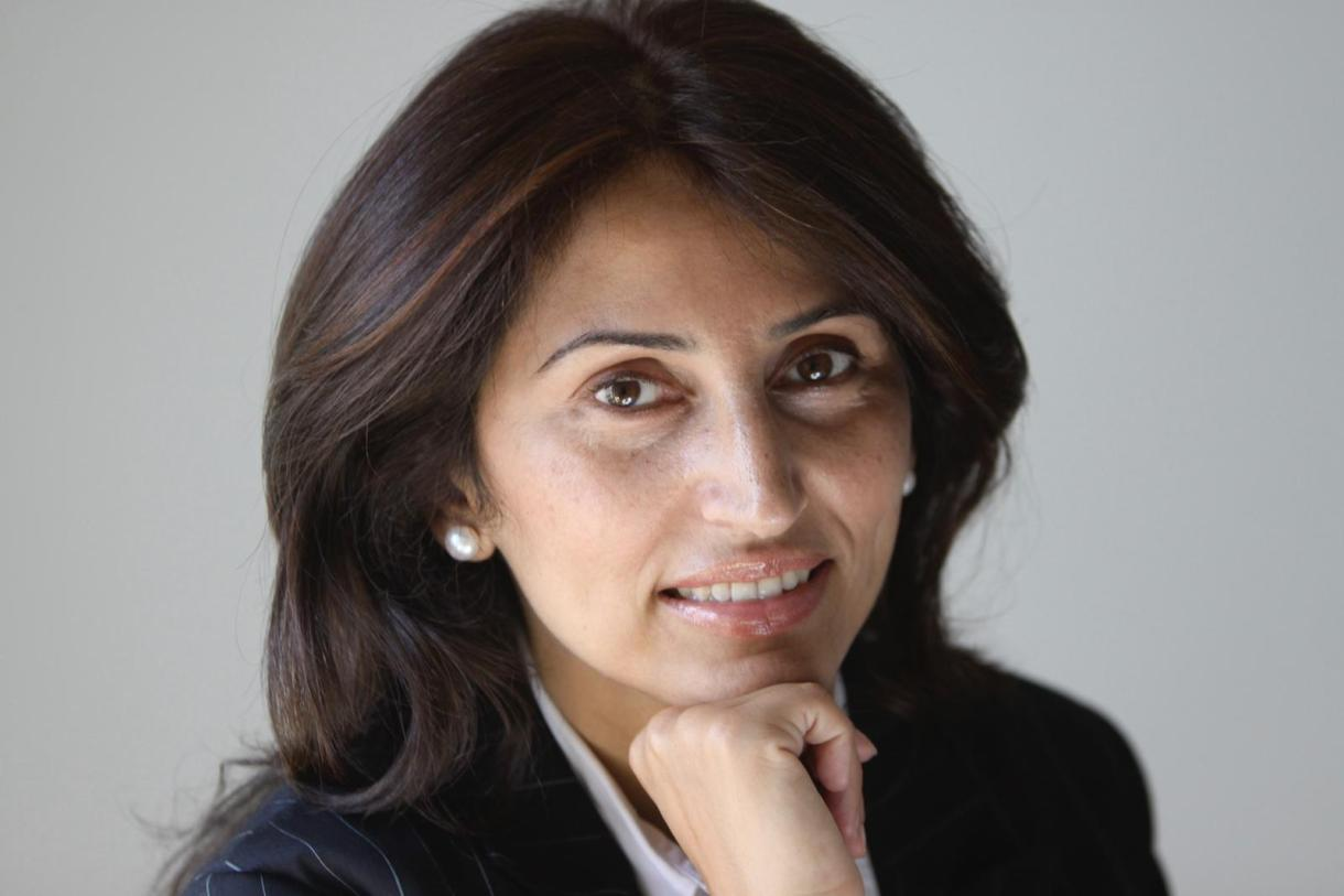 Diana Buttu, Palestinian human rights attorney, analyst, and former advisor to the Palestine Liberation Organization. (Photo courtesy of Diana Buttu)