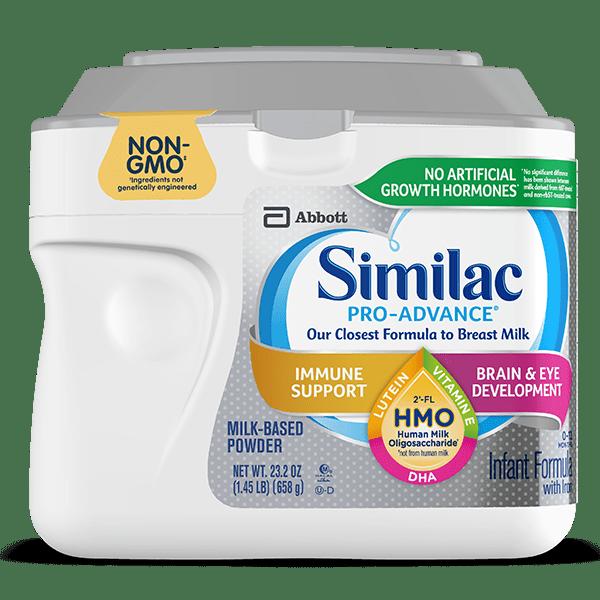 Similac Pro-Advance™ Milk-Based Infant Formula Container