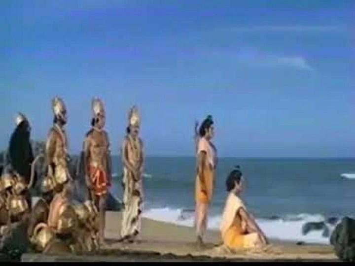 This is how ramanand sagar ramayan ram sethu scene shoot reveals sunil lahri watch video