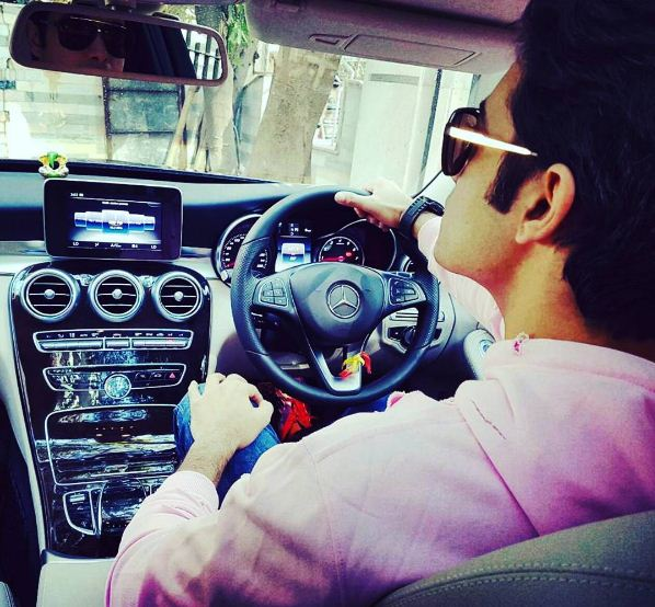 "Kasam Tere Pyar Ki Actor Ssharad gifted himself a Mercedes Benz this year on January 15, 2017. He loves driving luxury cars and it is evident from his caption where he wrote ""Life is too short to drive boring cars !!!????????????????...#mercedesbenz #benzclub#loveforcars #speed #drivesafe#journeynotthedestination."" (Picture credit: Instagram- sharadmalhotra009)"