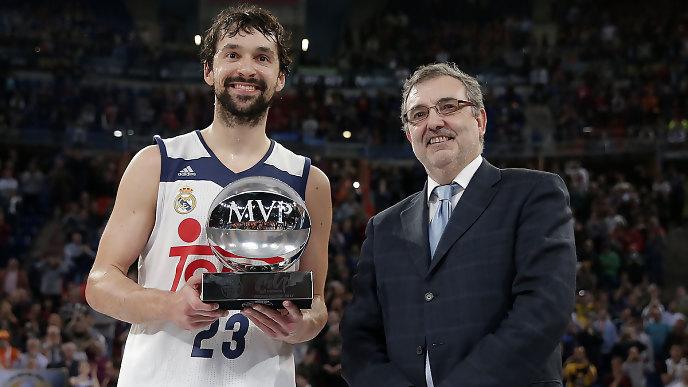 Sergio Llull,MVP de la final.