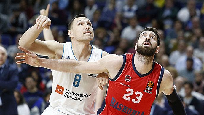 Real Madrid Baloncesto vs Baskonia Maciulis