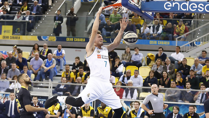 Real Madrid Baloncesto Doncic