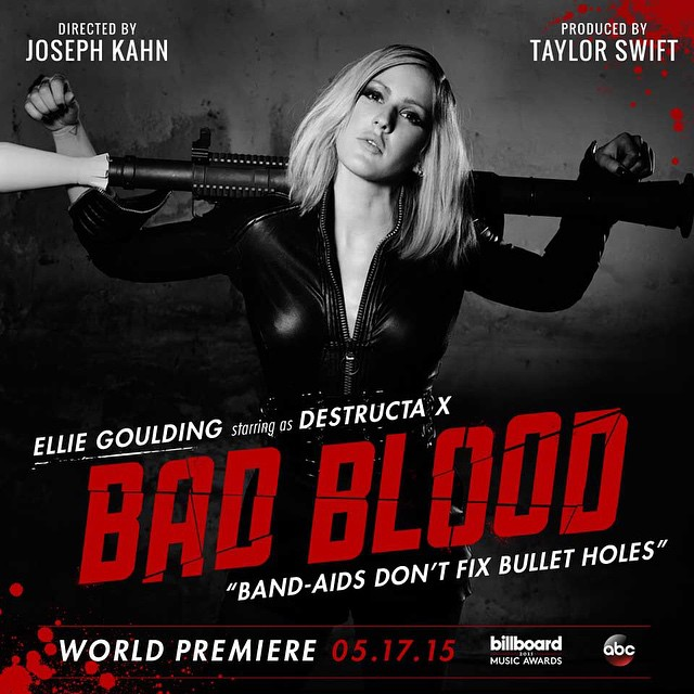 taylor swift s bad blood posters