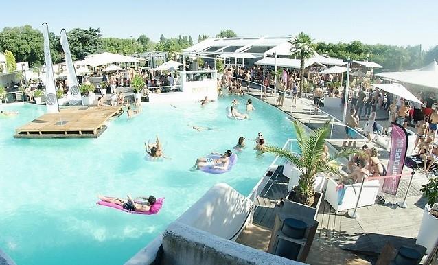 dj internationaux pool party