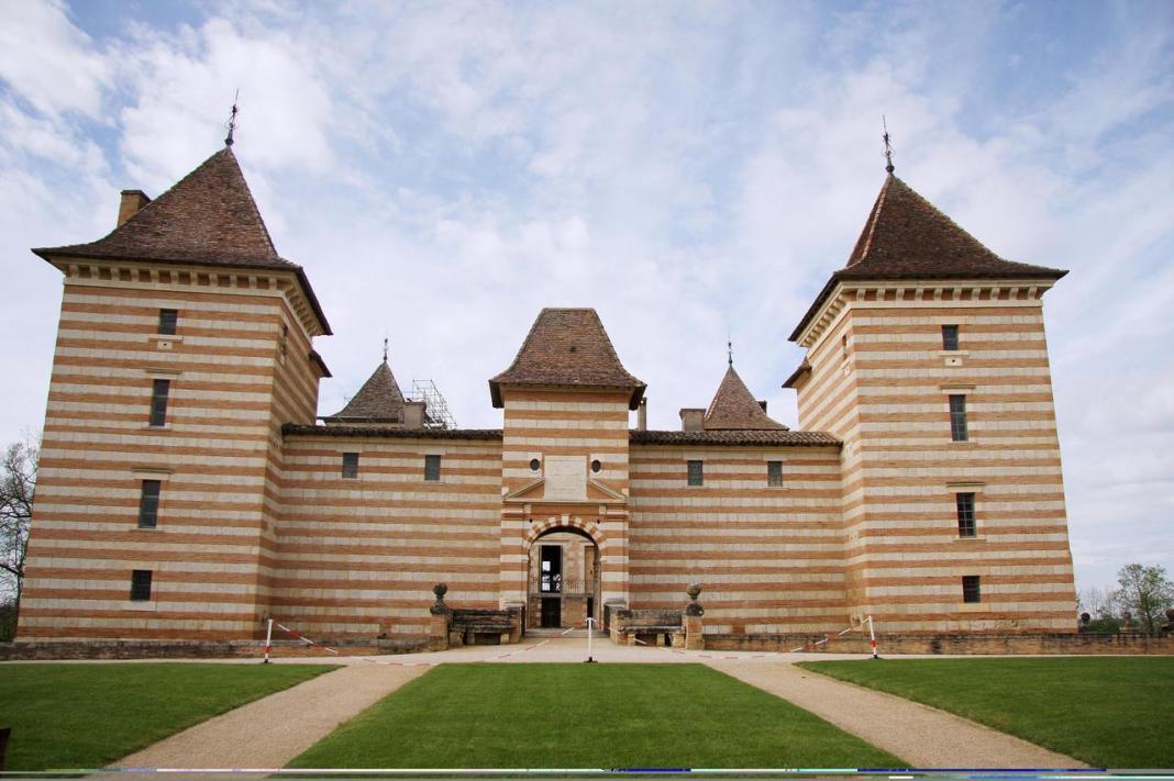 Le château de Laréole. © Conseil départemental de la Haute-Garonne