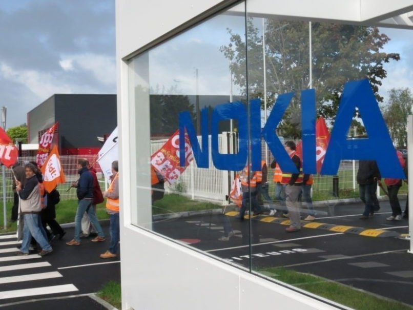 Avec la rentrée, la mobilisation reprend chez Nokia Lannion.