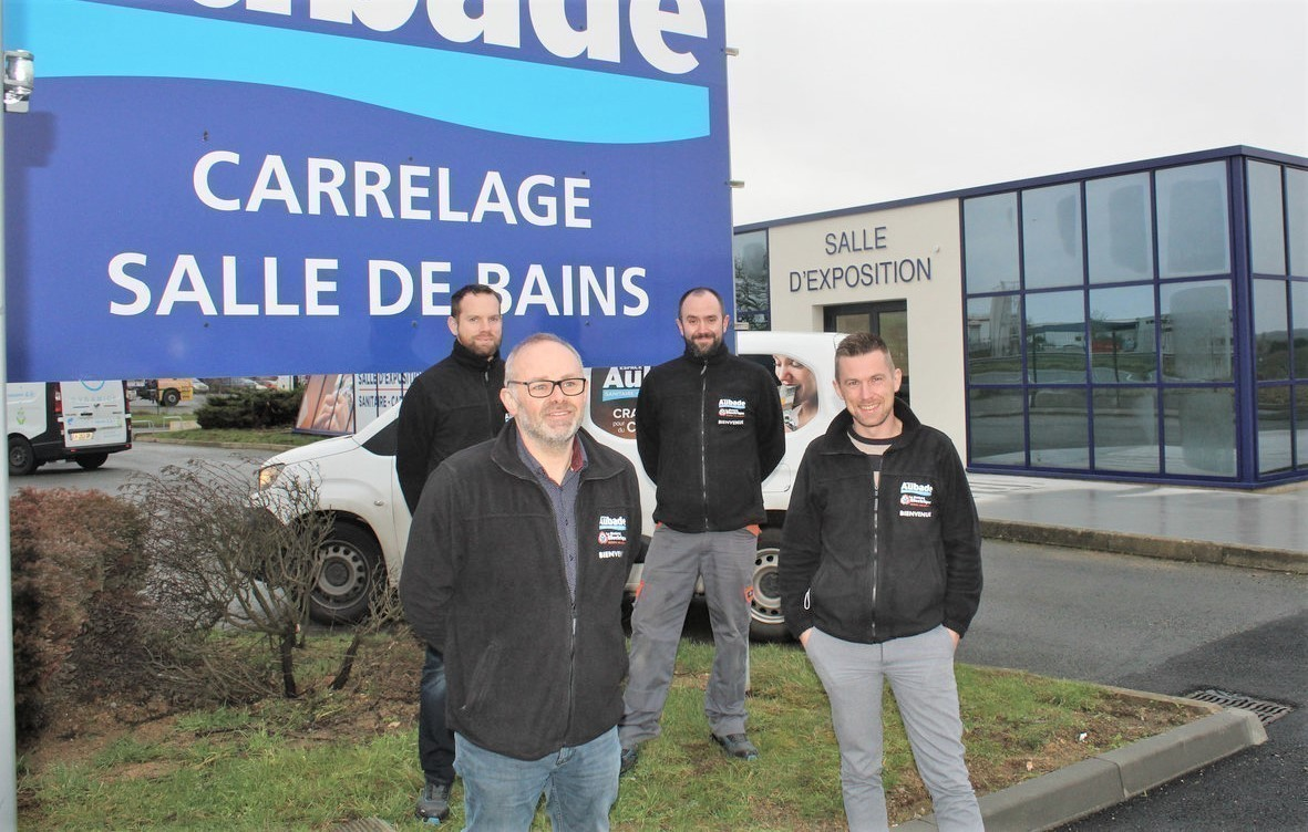 magasin aubade ouvre une grande salle
