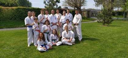 Bayeux: martial arts.  Kyokushin is shifting ahead!
