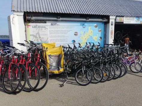 Location vélo Île d'Arz Golfe du Morbihan