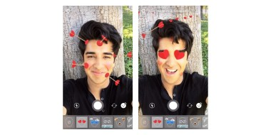 Resultado de imagem para Filtro Instagram Heart Eyes