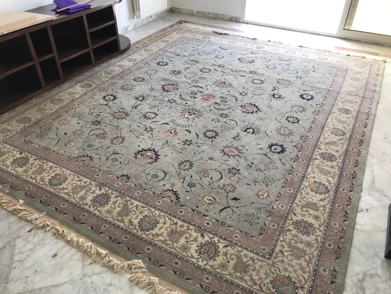annonce tapis soie et laine