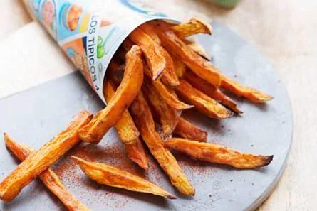 Afbeeldingsresultaat voor zoete aardappel patat