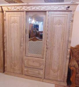 Best Quality Wooden Almirah in Bangladesh   AjkerDeal com Traditional Wooden Almira