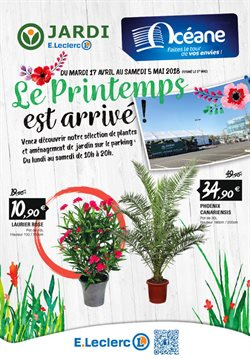 jardi e leclerc catalogue prospectus