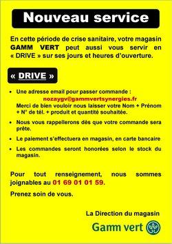 gamm vert catalogue prospectus et