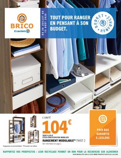 brico e leclerc catalogue reduction
