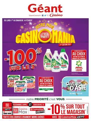 geant casino prospectus catalogue et