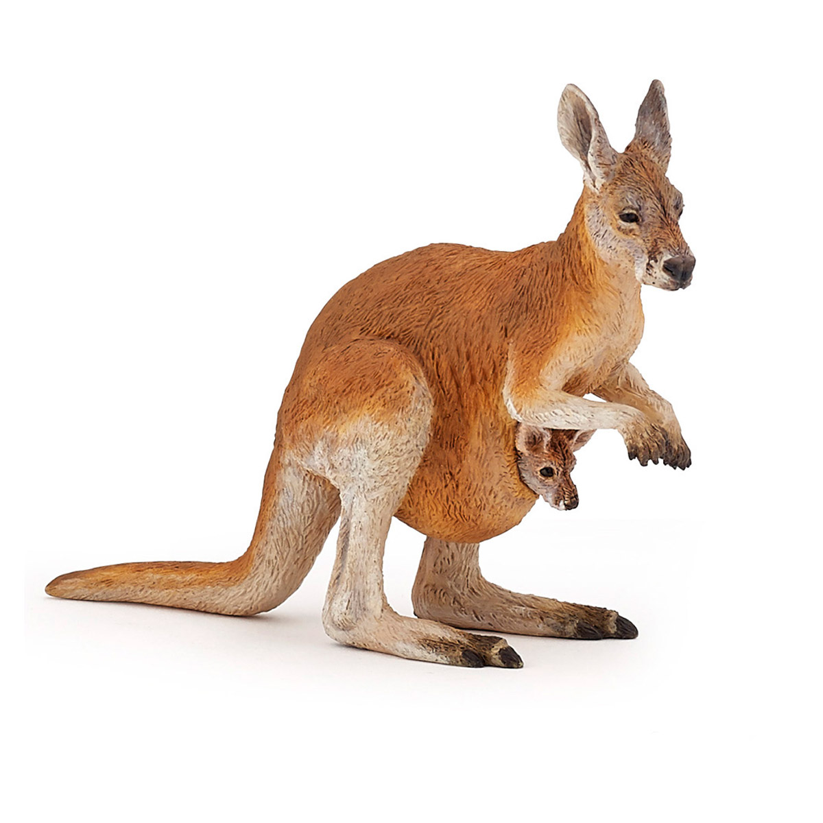 Figurine Kangourou Et Son Bebe