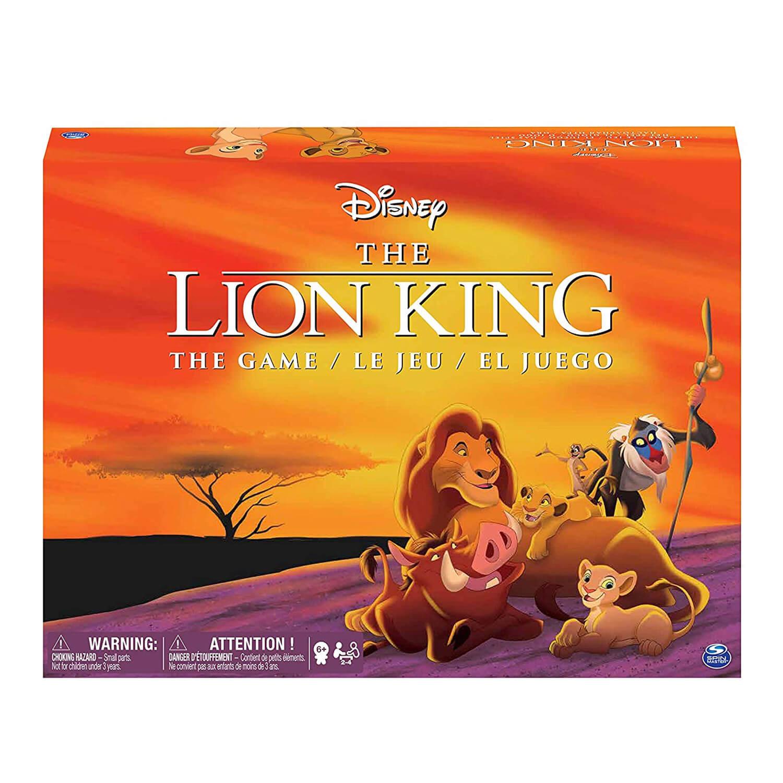 jeu de plateau le roi lion edition retro