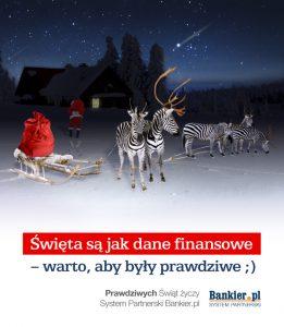 Bankier - życzenia bożonarodzeniowe