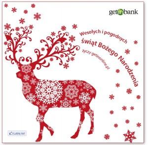 Getin Bank - życzenia świąteczne
