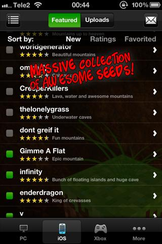 Minecraft Seeds Pro Android Games 365 Free Android