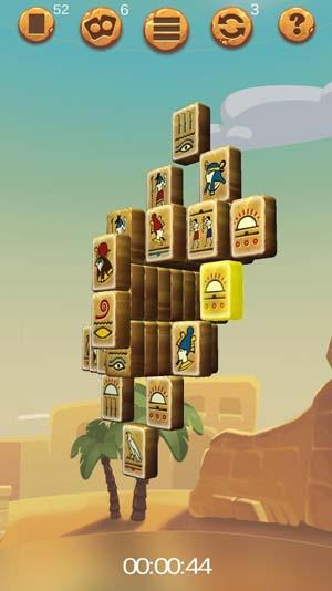 Double-sided Mahjong Cleopatra