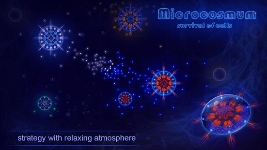 Microcosmum: survival of cells
