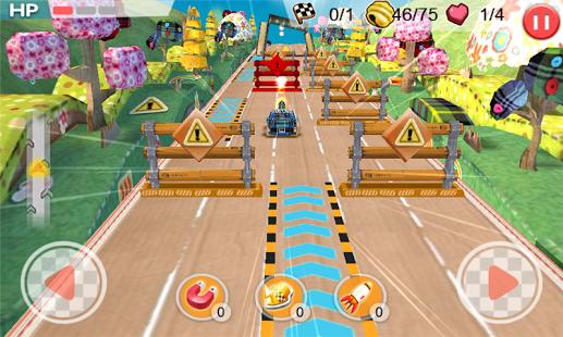 Speed Kart City Race 3D