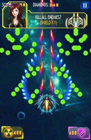 Galaxy Wars: Space Defense
