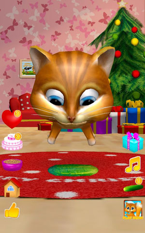 Talking Cat Diana 3D